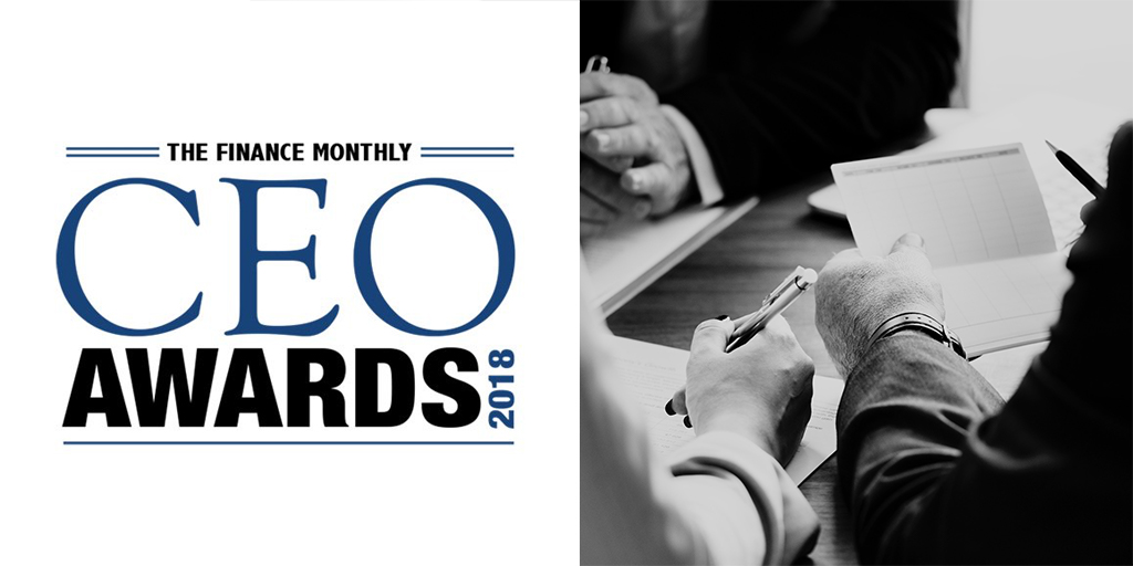 Finance Monthly Magazine CEO Awards