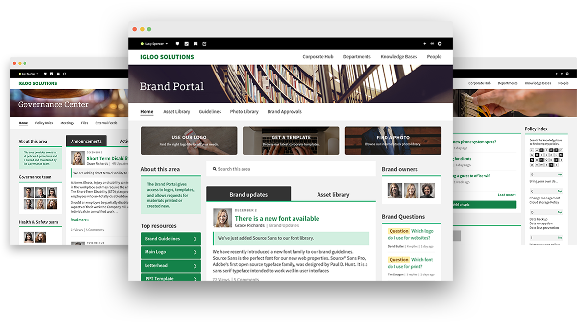 Knowledge management for intranets and digital workplaces