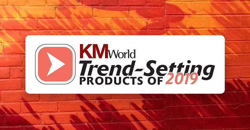 "Igloo's Digital Workplace Platform Named a ""2019 Trend-Setting Product"" by KMWorld"