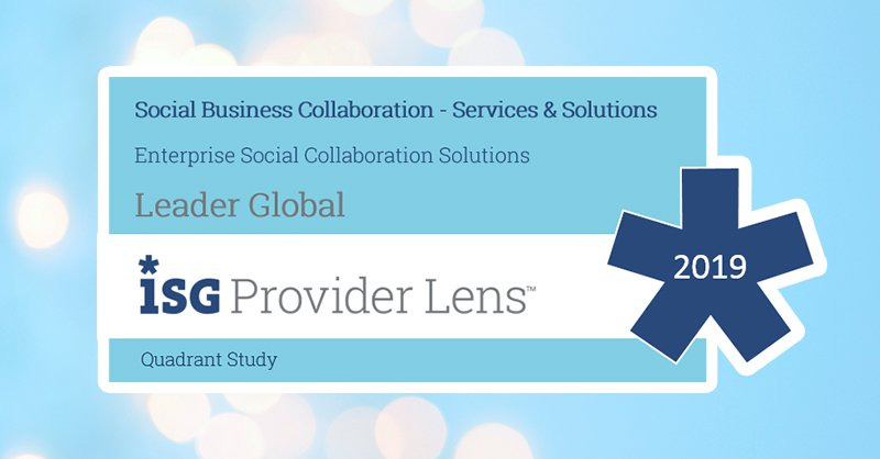 Igloo Named a Leader in ISG Provider Lens? for Enterprise Social Collaboration Solutions