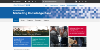 Marketing Knowledge Base Home