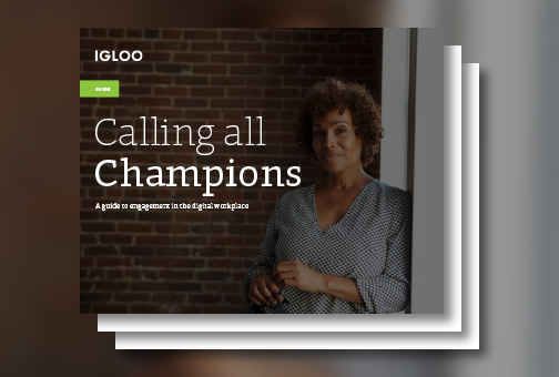 Calling All Champions