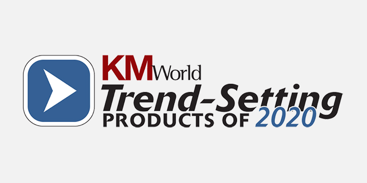 Igloo's Digital Workplace Platform Named a 2020 Trend-Setting Product by KMWorld
